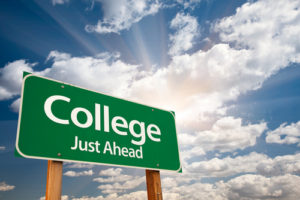 College- Just Ahead, Small